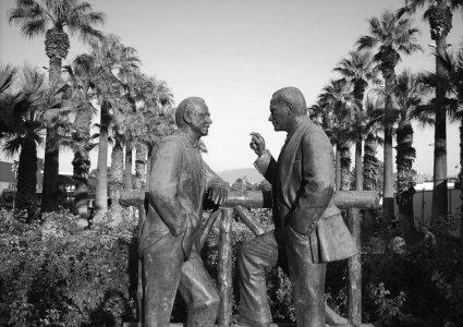 Atatürk ve İnönü Heykeli / İZMİR